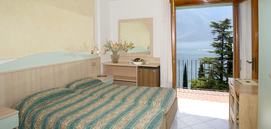 Hotel Villa Dirce, Limone, Lake Garda, Italy - Bedroom with balcony.jpg